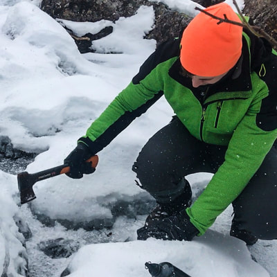 active survivalcourse in arctic winter dutchexplorers