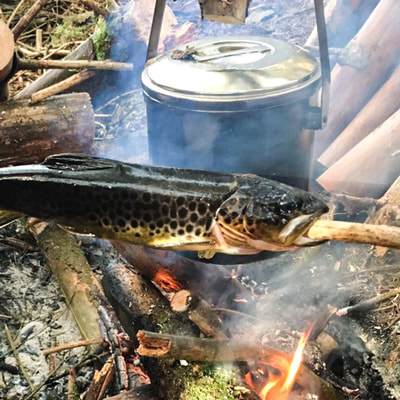 learn cooking your own catched fish in Norway