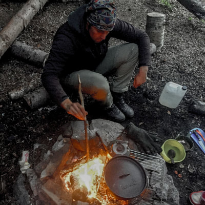 survivalcourse cooking from nature in the Arctic