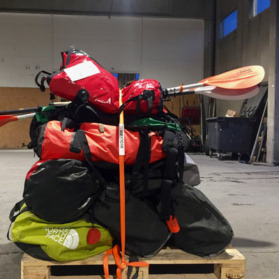 gear for wilderness adventure in the cold climate of arctic Norway